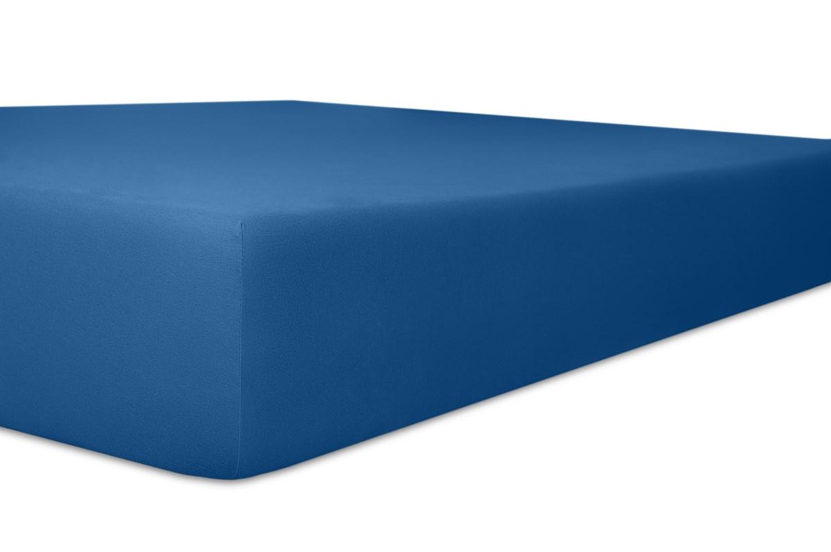 Spannbetttuch Q25 Easy-Stretch kobalt