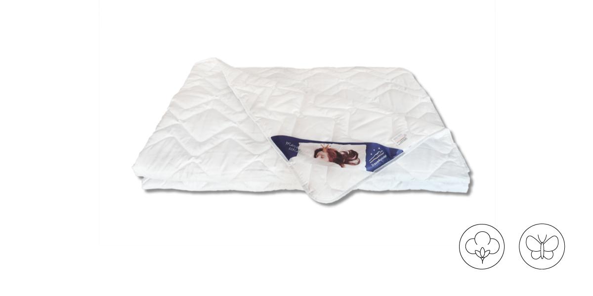 Bettdecke Silk Wash