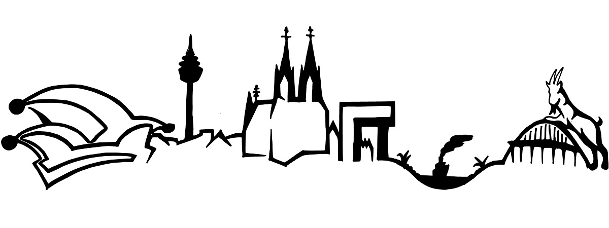 Köln Sofadecke mit Skyline Köln