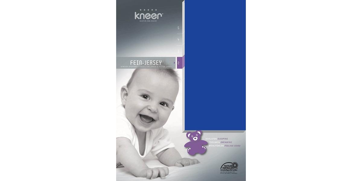 Kinderlaken Q50 kobalt
