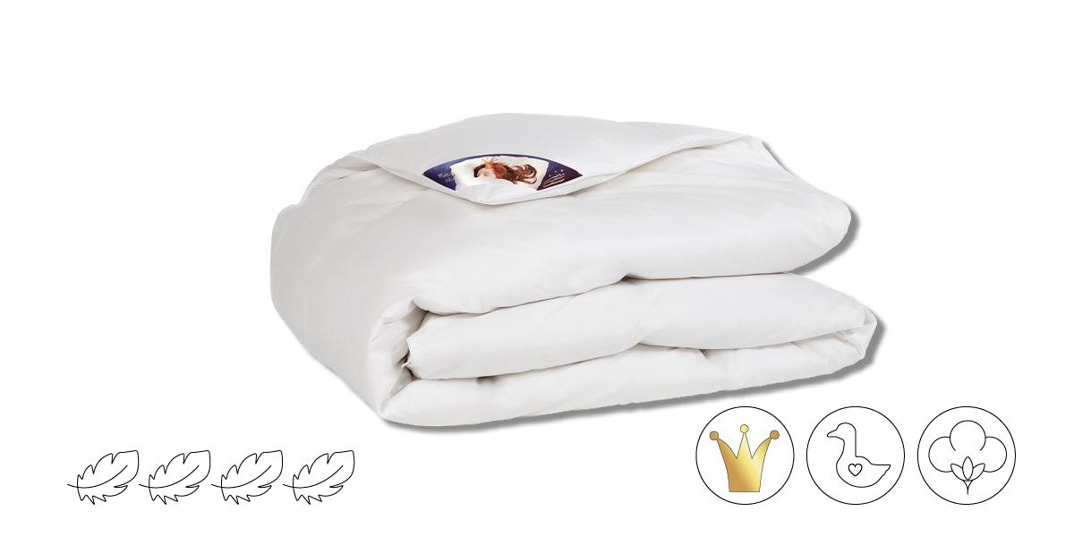 Bettdecke aus Daune Gold warm
