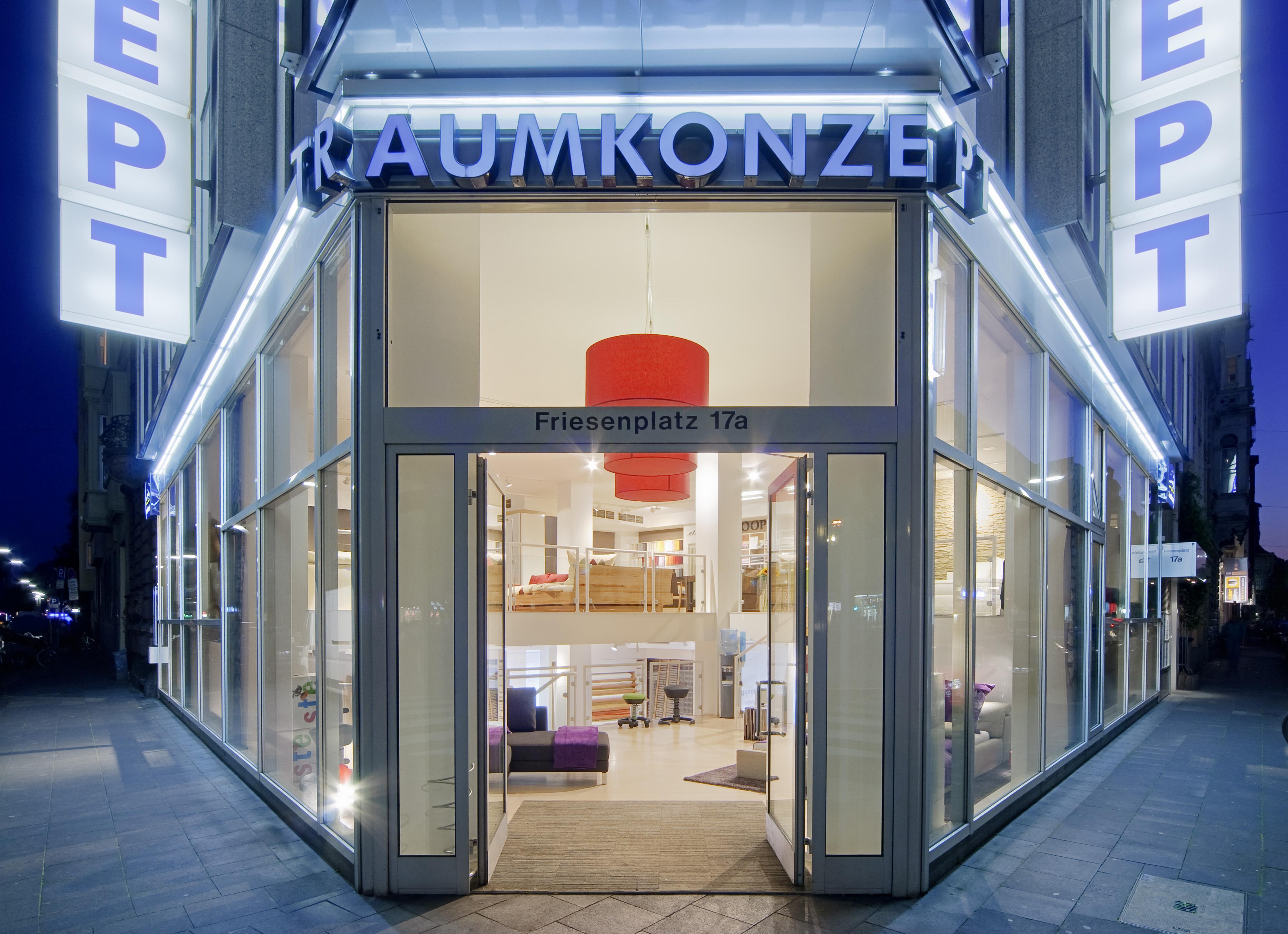 Traumkonzept Showroom Köln